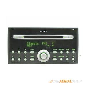 Ford Transit Connect Sony Car Stereo removal