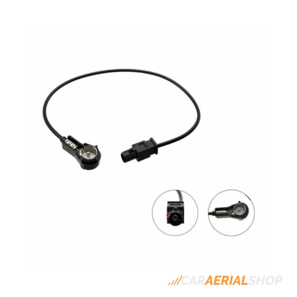 BMW 3 Series E46 2001-06 Car Aerial Antenna Lead Adaptor FAKRA to ISO