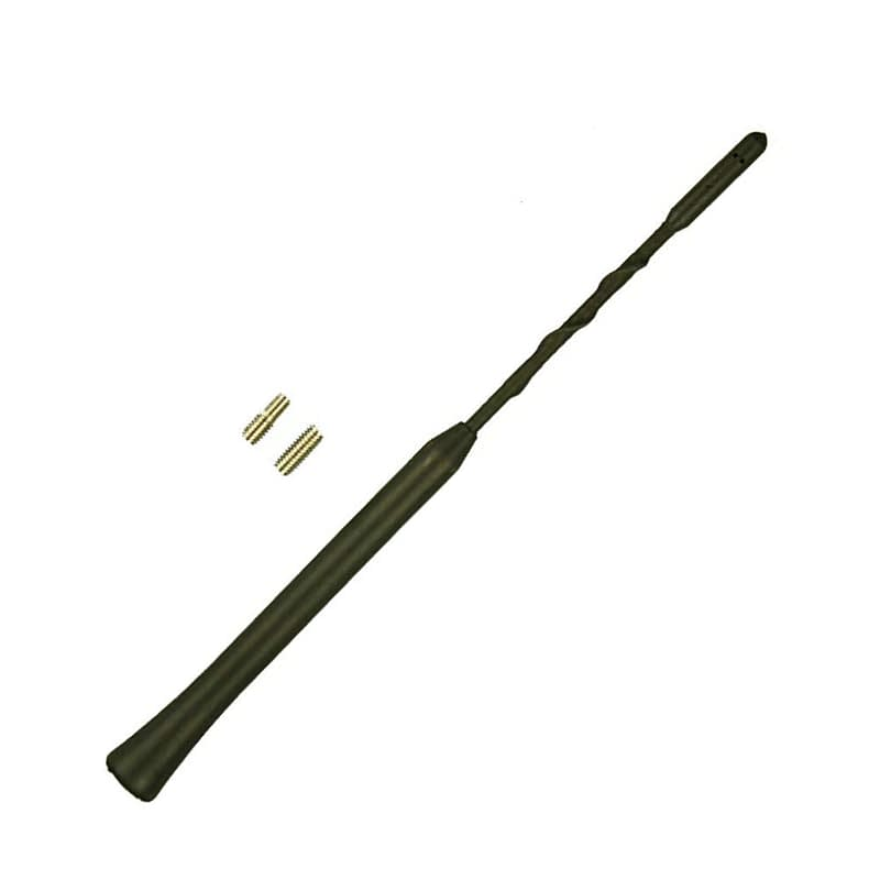 vauxhall corsa genuine aerial replacement car antenna mast black rubber plastic flexible