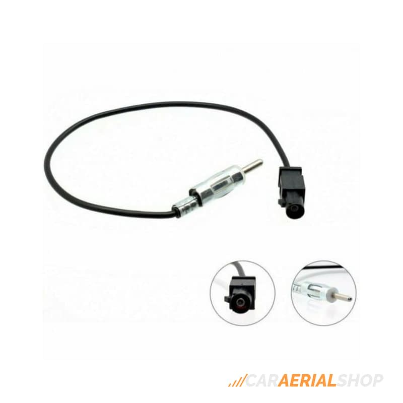 BMW 1 3 5 6 7 Series Car Aerial Antenna Lead Adaptor FAKRA to DIN