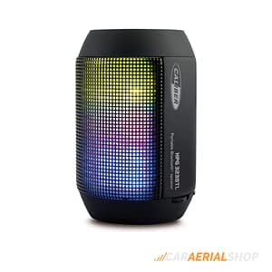 Caliber-HPG323BTL-Portable-Bluetooth-Speaker-with-LED-Light-and-Rechargeable-Battery-FRONT