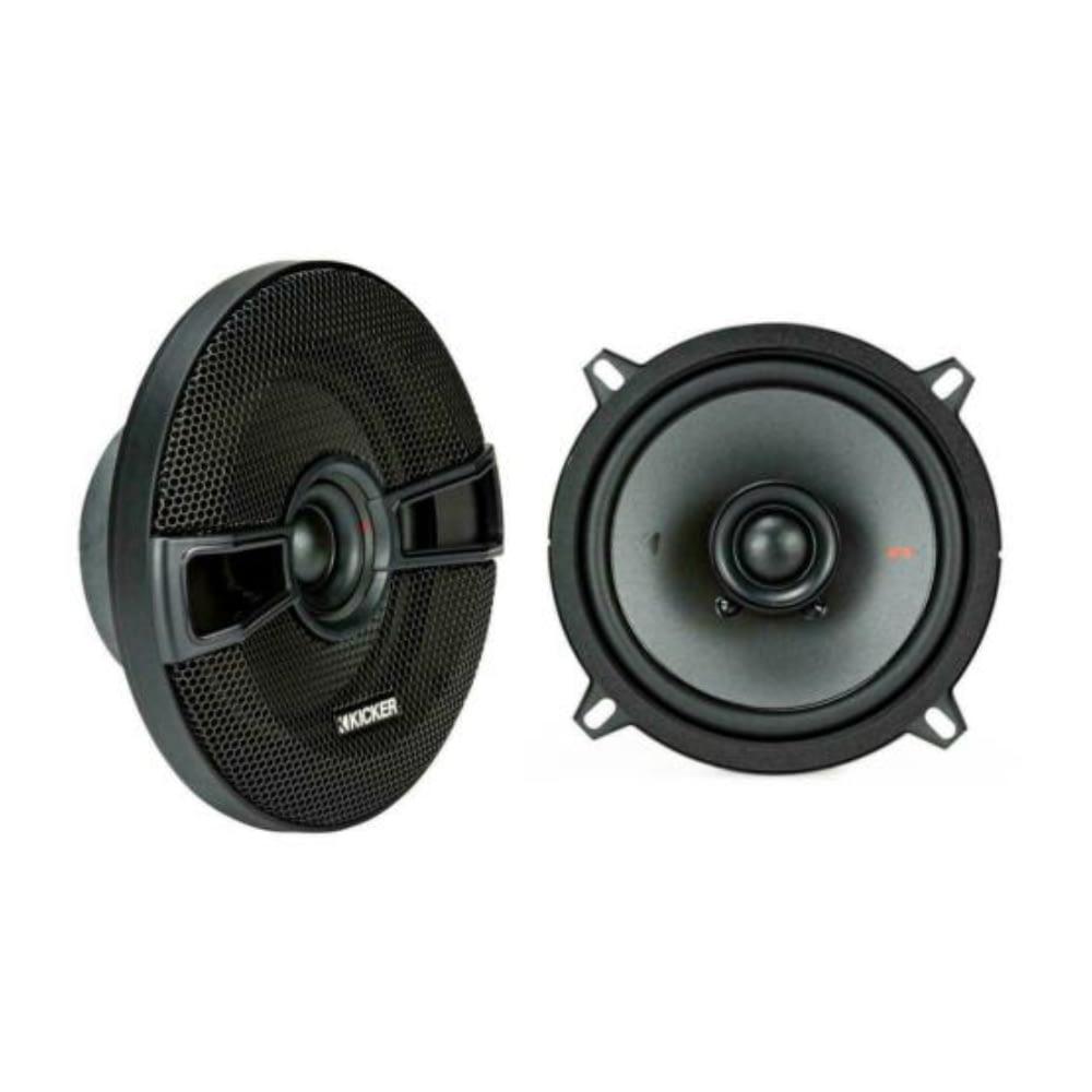 """Kicker KSC50 Car Coaxial Speakers 5 1/4"""" 13cm With Grill 150W Watt"""