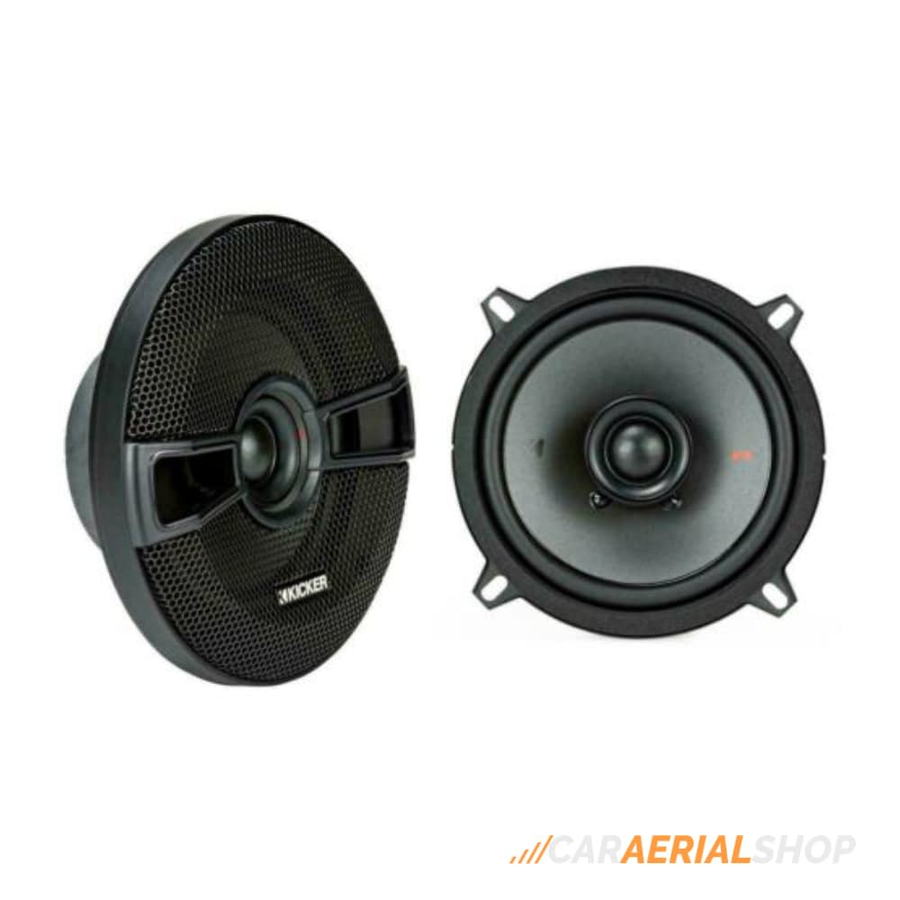 "Kicker KSC50 Car Coaxial Speakers 5 1/4"" 13cm With Grill 150W Watt"