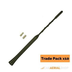 VW Golf MK4 MK5 Replacement Car Aerial Mast Trade Pack of 10