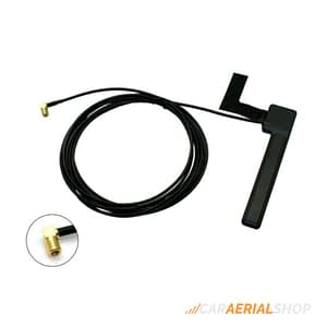 CONNECTS2 SAD-15 UNIVERSAL AMPLIFIED GLASS MOUNT ANTENNA WITH SMB CONNECTOR